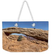 Clear Day At Mesa Arch - Canyonlands National Park Weekender Tote Bag