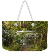Clear Mountain Stream Weekender Tote Bag