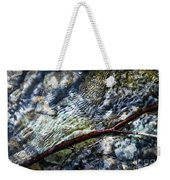 Clear Water Level With Twigs Weekender Tote Bag