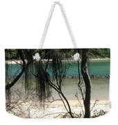 Clear Waters At The Beach Weekender Tote Bag