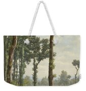 Clearance In An Oak Forest Weekender Tote Bag