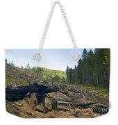 Clearcut Logging Site Weekender Tote Bag