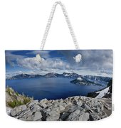 Clearing Storm At Crater Lake Weekender Tote Bag