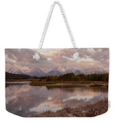 Clearing Storm At Oxbow Bend Weekender Tote Bag