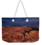 Clearing Storm Over The Hoodoos Bryce Canyon National Park Weekender Tote Bag by Dave Welling