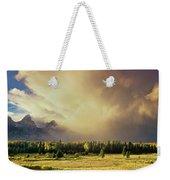 Clearing Summer Storm Grand Tetons National Park Weekender Tote Bag