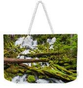 Clearwater Falls And Rapids Weekender Tote Bag