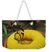 Clearwing Butterfly Weekender Tote Bag