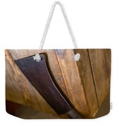 Cleaver Ready For Action Weekender Tote Bag