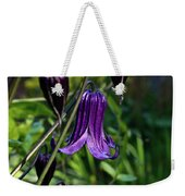 Clematis Flower Blossoms Weekender Tote Bag