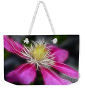 Clematis In Pink Weekender Tote Bag