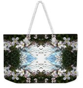 Clematis Sky Window Weekender Tote Bag