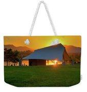 Clement Park Sunset Weekender Tote Bag