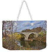 Clement Stone Arch Bridge Weekender Tote Bag