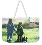Clemson Kids Big Sister Little Brother Weekender Tote Bag