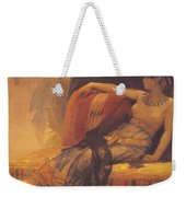 Cleopatra Preparatory Study For Cleopatra Testing Poisons On The Condemned Prisoners Weekender Tote Bag