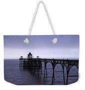Clevedon Pier  Weekender Tote Bag