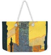 Cleveland - Vintage Travel Weekender Tote Bag