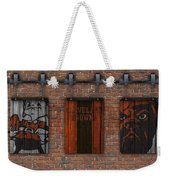 Cleveland Browns Brick Wall Weekender Tote Bag