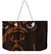 Cleveland Browns Wood Fence Weekender Tote Bag
