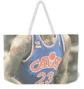Cleveland Cavaliers Lebron James 1 Weekender Tote Bag