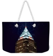 Cleveland Key Building With Electricity Weekender Tote Bag