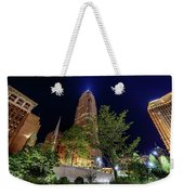 Cleveland On The Rise Weekender Tote Bag