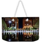 Cleveland Public Square Fountains Weekender Tote Bag
