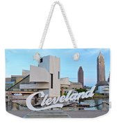 Cleveland Updated View Weekender Tote Bag