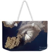 Cleveland Volcano, Iss Image Weekender Tote Bag