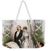 Clevelands Wedding, 1886 Weekender Tote Bag