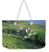 Clifden Castle, Co Galway, Ireland 19th Weekender Tote Bag