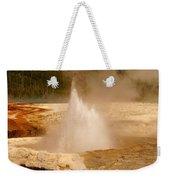 Cliff Geyser Weekender Tote Bag