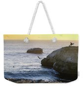 Cliff Jumping To Surf Weekender Tote Bag