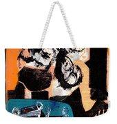 Cliff Master Bed 3 - Digital Version Weekender Tote Bag