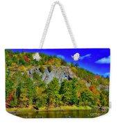 Cliff Of Color Weekender Tote Bag