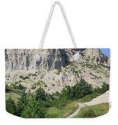 Cliff Shelf Trail In Badlands National Park South Dakota Weekender Tote Bag