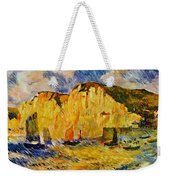 Cliffs 1883 Weekender Tote Bag