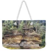 Cliffs At The Dells Weekender Tote Bag