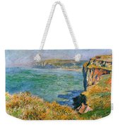 Cliffs Near Pourville Weekender Tote Bag