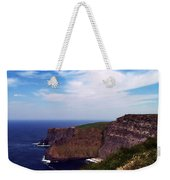 Cliffs Of Moher Aill Na Searrach Ireland Weekender Tote Bag