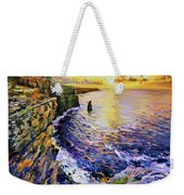 Cliffs Of Moher At Sunset Weekender Tote Bag
