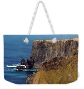 Cliffs Of Moher Ireland View Of Aill Na Searrach Weekender Tote Bag