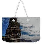 Cliffs Of Moher Stack Weekender Tote Bag