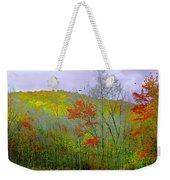 Climb Into Autumn Weekender Tote Bag