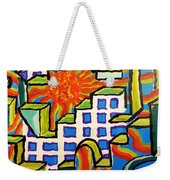 Climbing Abstractly  Weekender Tote Bag