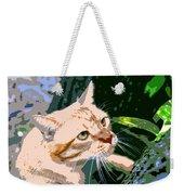Climbing Cat Weekender Tote Bag
