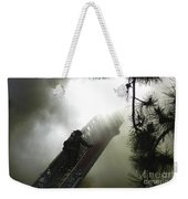 Climbing Into The Light Weekender Tote Bag