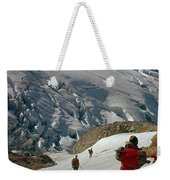 T-204805-climbing Party Mt. Rainier  Weekender Tote Bag