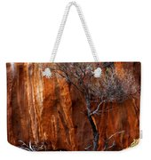 Clinging To Life Weekender Tote Bag by Mike  Dawson